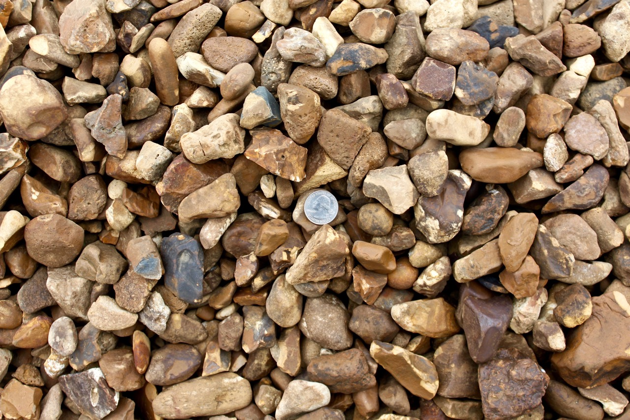 Decorative gravels 1 green stone company natural stone for Smooth landscaping rocks