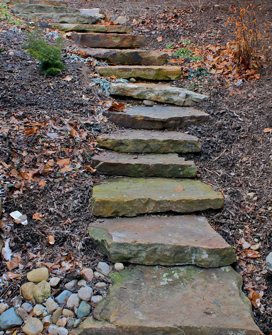 Natural Stone Steps : Natural stone steps green company